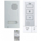 Kit interphone portier audio accès résidence immeuble collectif