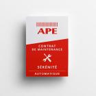 Contrat de maintenance APE SÉRÉNITÉ - Système automatique - Tranquilité pour entretien de vos portails et portes automatiques