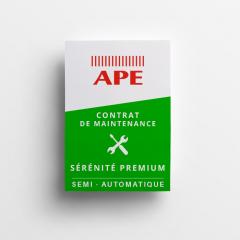 APE Contrat de maintenance SÉRÉNITÉ premium portes garage portillons semi-auto