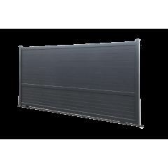 Portail coulissant Outremer Modèle TONGA A - Largeur 3500 mm - Ape professionnel de la pose et maintenance portails automatiques
